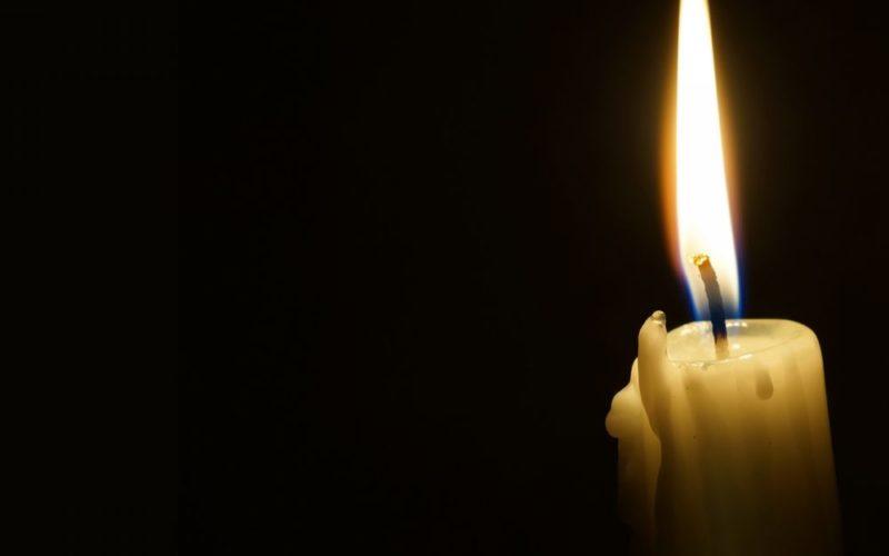 Огонек свечи